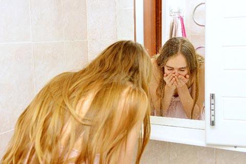 お肌に刺激が強い過度な洗顔