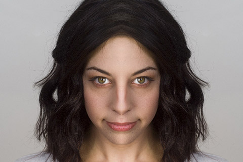 顔が左右非対称2