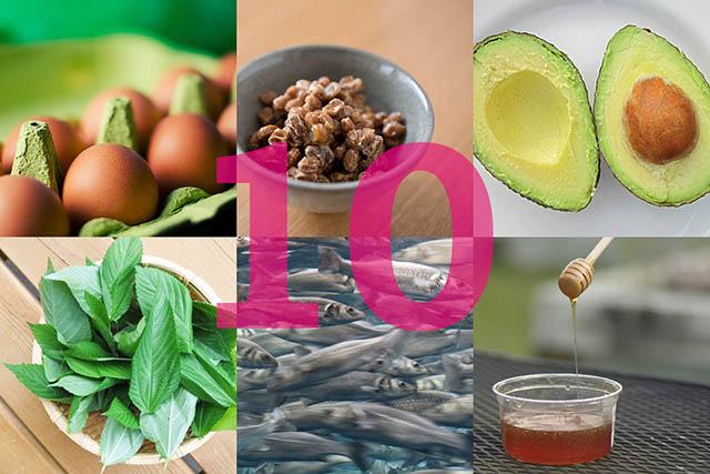 美肌作りにいい食べ物!美肌効果のある10の食材を選びました
