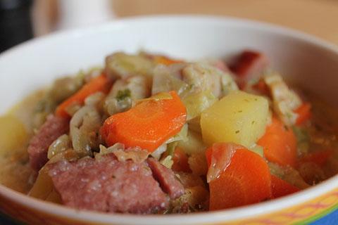 美肌作りの料理 シチュー・スープ