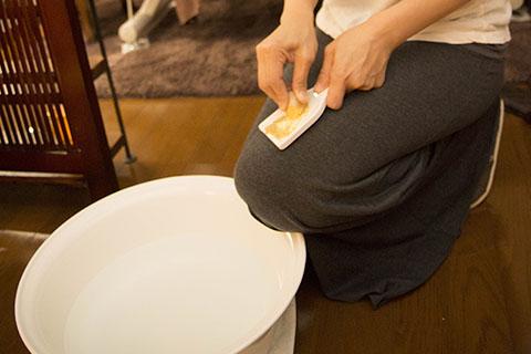 しょうがの足湯の作り方!風邪にはお風呂代わりで体を温める