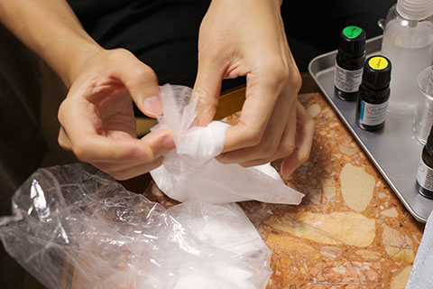 手作り重曹芳香剤の作り方2