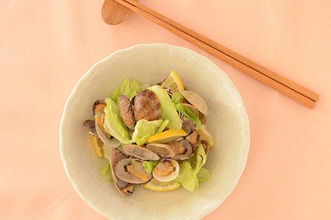 春キャベツとあさりの炒め物のレシピ