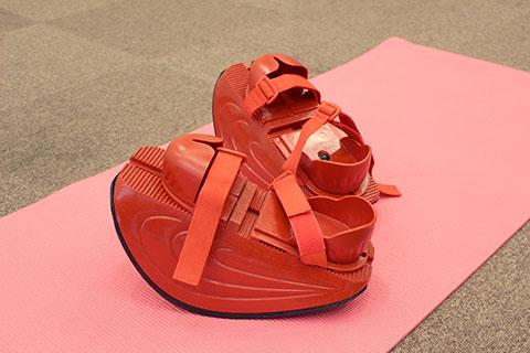 マスターストレッチ専用の丸底靴