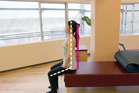 正しい座り方の姿勢の見つけ方1