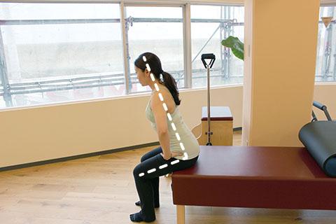 正しい座り方の姿勢の見つけ方2