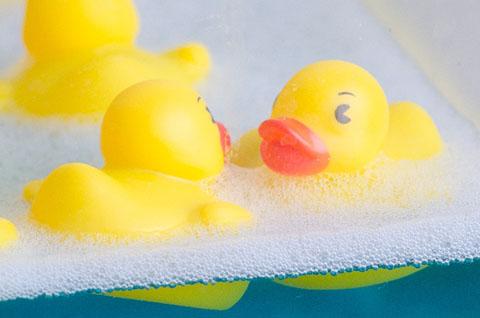 お風呂でクレンジング・洗顔