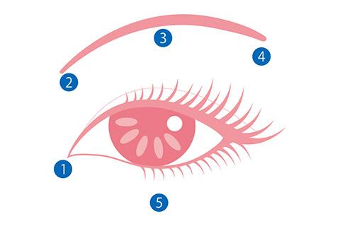目の下のたるみを改善する方法:ツボ押し