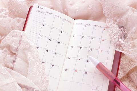 月経周期について