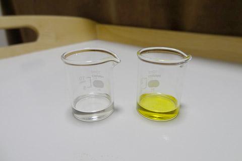 精製と未精製のホホバオイル