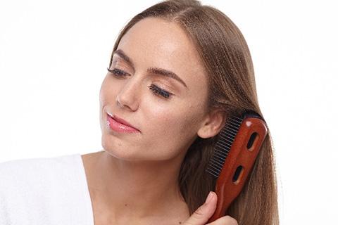 アルガンオイルの使い方 髪(ヘアケア)