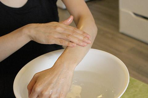 塩浴の方法4