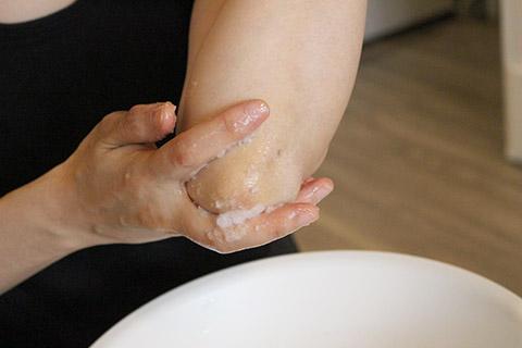 塩浴の方法6