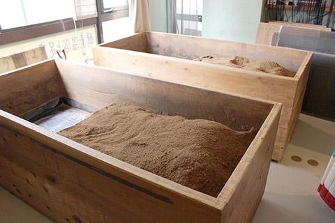 酵素風呂の入り方