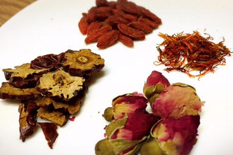 薬膳茶の材料になる素材