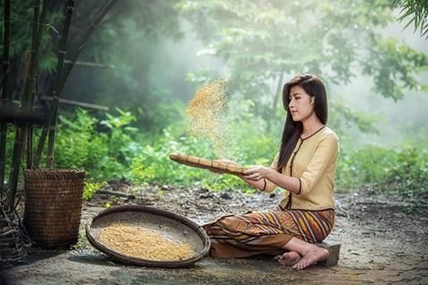 米のとぎ汁で米ぬか洗顔?