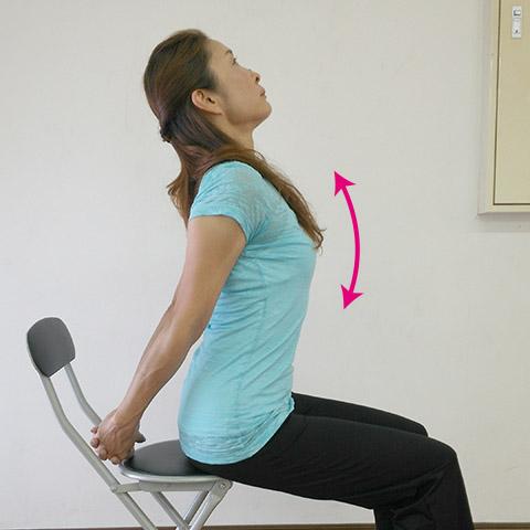 胸式呼吸のやり方3.
