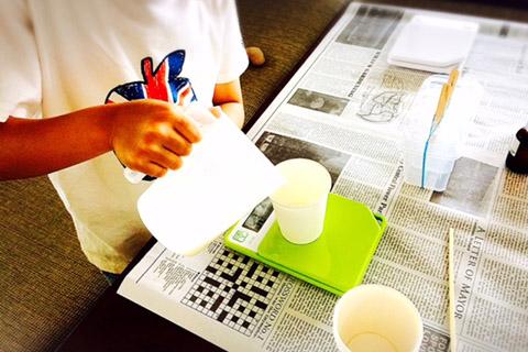 手作り宝石石鹸の作り方