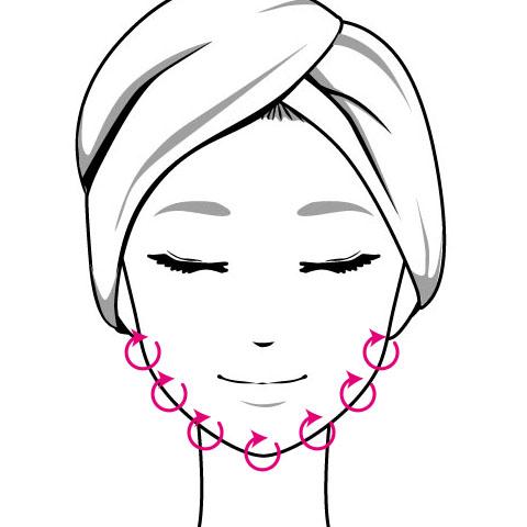 オフィスでも簡単にできる顎のむくみを解消するマッサージ