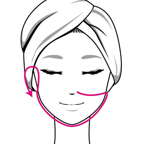 自宅でスキンケアと一緒にできる顎のむくみを解消するマッサージ